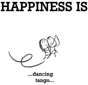 Happiness ... dancing tango