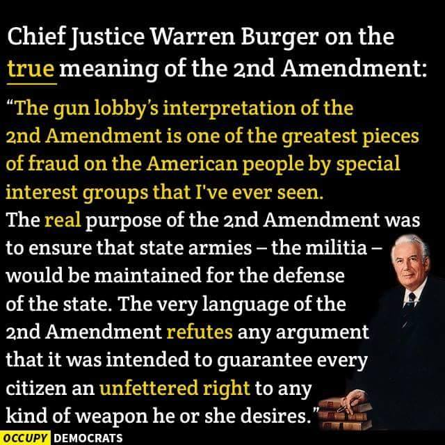 True Meaning of 2nd Amendment