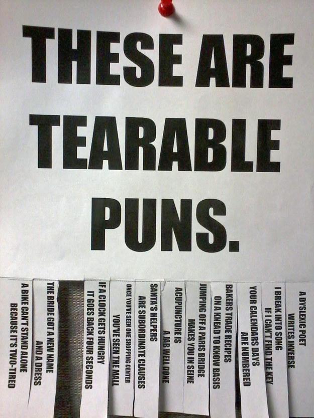 tereable puns